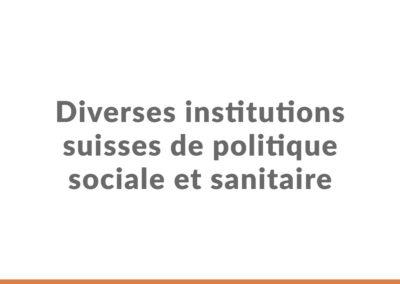 evaluactions-Diverses-institutions-suisses-de-politique-sociale-sanitaire